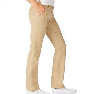 Aeropostale Womens khaki chino stretch pants Sz 0